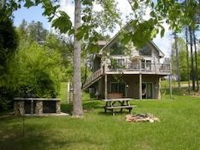 White Dove - lake front home - Blairsville - Casa