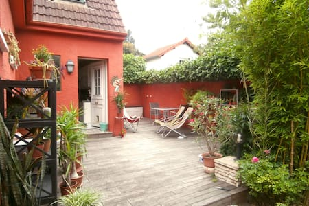 "Large modern ""suite"" in a pretty house with garden - Montreuil - Haus"