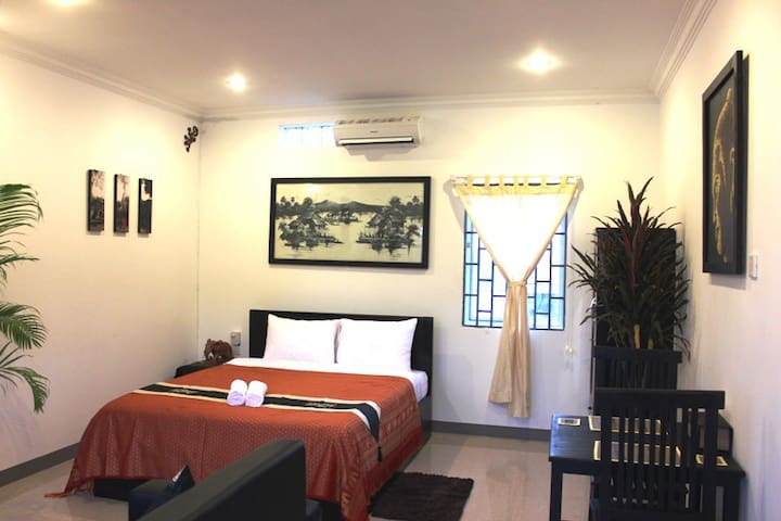 Central Siem Reap, Cozy New Studio - Krong Siem Reap - Apartament