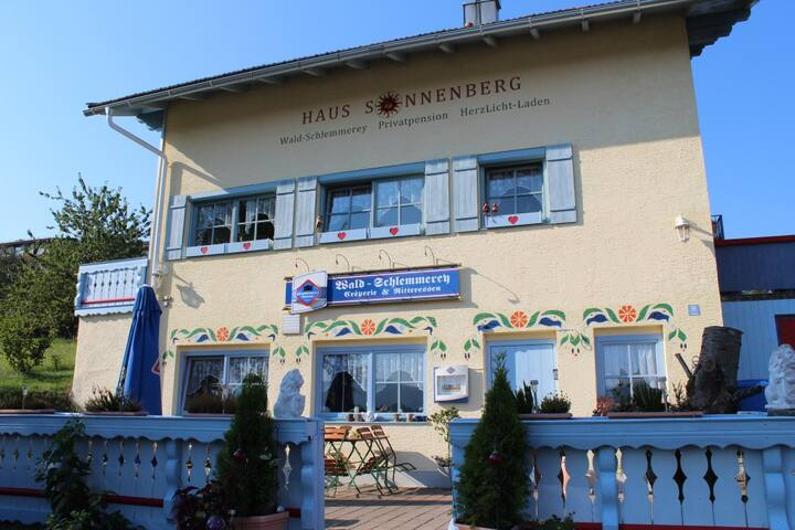 Haus Sonnenberg - Doppelzimmer - Sankt Oswald-Riedlhütte - Penzion (B&B)