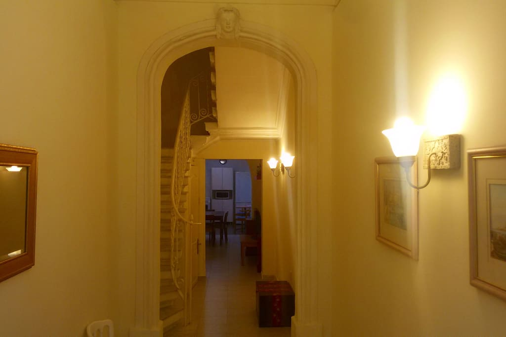Entry Way of Townhouse