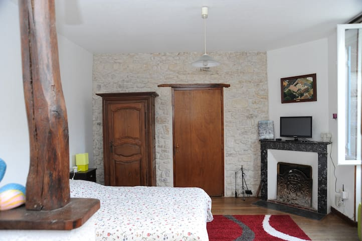 Chambre d'hôtes La Baticole - Estouy - Huis