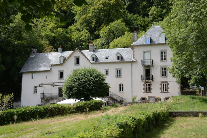 Chambre Ecorce - Saint-Cirgues-de-Jordanne - Bed & Breakfast