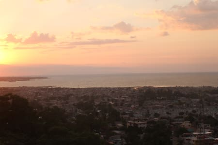 Amazing view over Port-au-Prince!