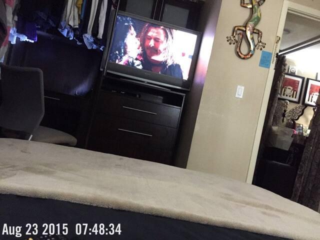 RENT PRIVATE BEDROOM/QUEEN BED, TV, ROOM A/C, DVD - National City - Kondominium