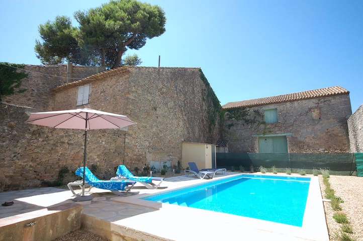 FRENCH VILLA, PRIVATE POOL -CAN STAY ISOLATED