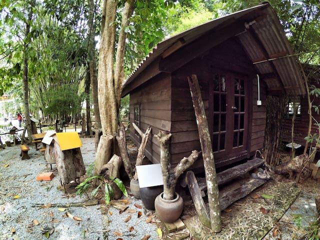 Malay traditional hut - Kota Bharu - Casa