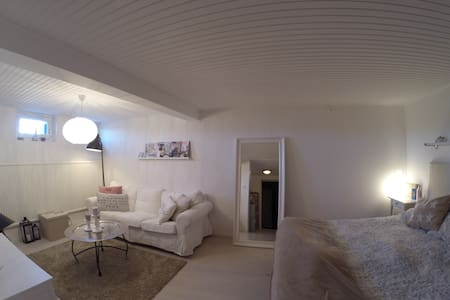 Nice room (19m2), private bathroom - Uppsala