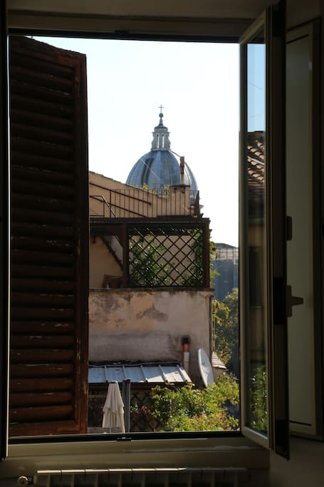 View on Rome roofs