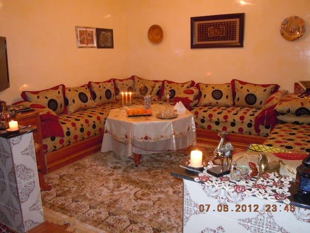 Mysig 3 rums lägenhet. - Agadir - Apartment