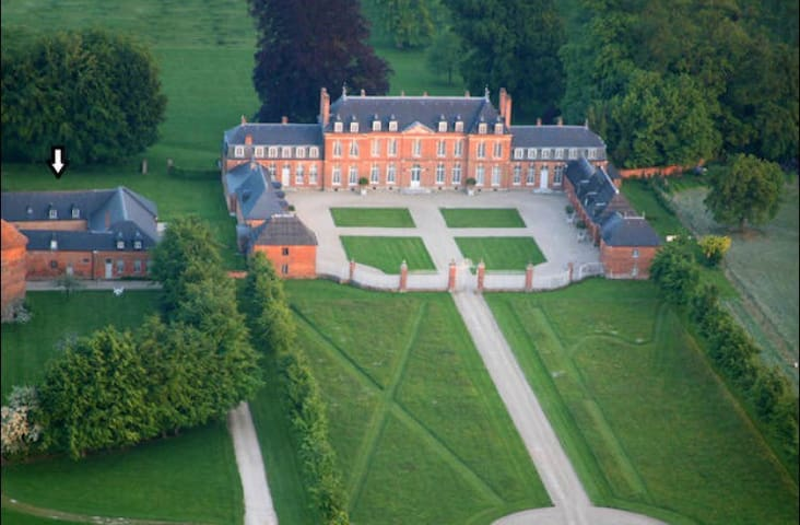Beautiful brick house Normandie-10p - Morgny-la-Pommeraye - Castle