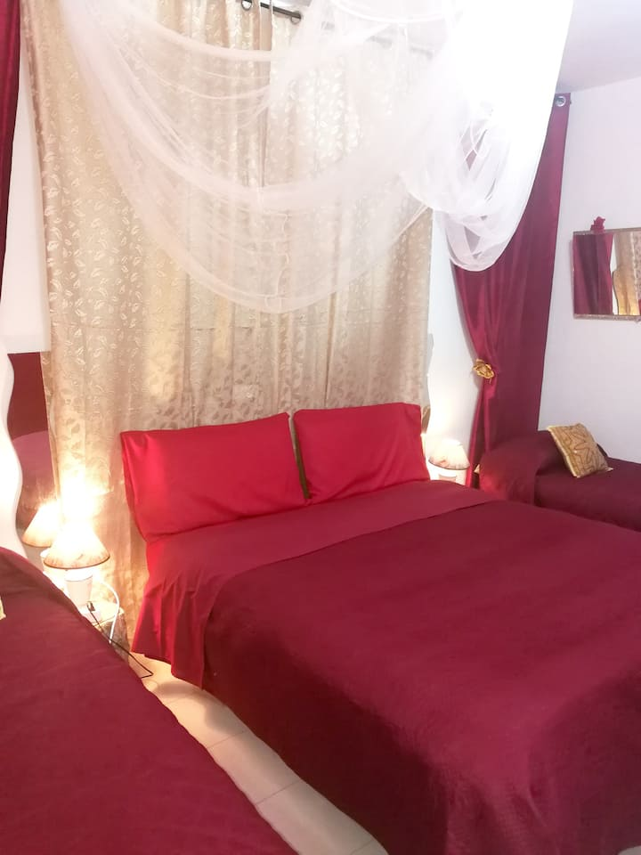 Apartment with one bedroom in Caltagirone, with wonderful mountain view and WiFi - 30 km from the beach