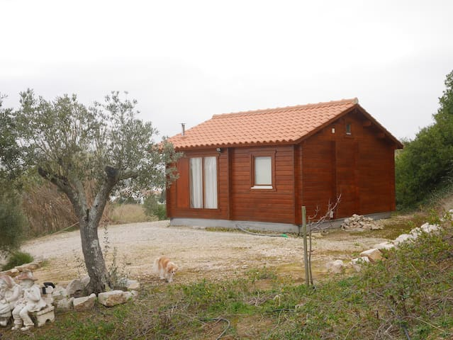 Romantic detached chalet - Leiria - Chatka w górach