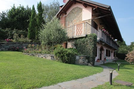 Villa & swimming pool nearby Arona - Montrigiasco - Villa