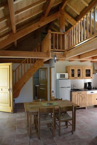 Gîte à la montagne - Saint-Paul-sur-Ubaye - House