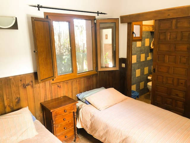 Double room in kite & yoga Villa Robles