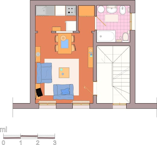 small flat close to Rialto Bridge