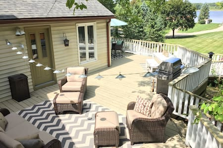 Enjoy a relaxing stay-cation! (Huge deck/yard!)