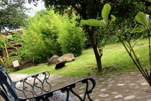 rinconcito acogedor relax corner in te common garden