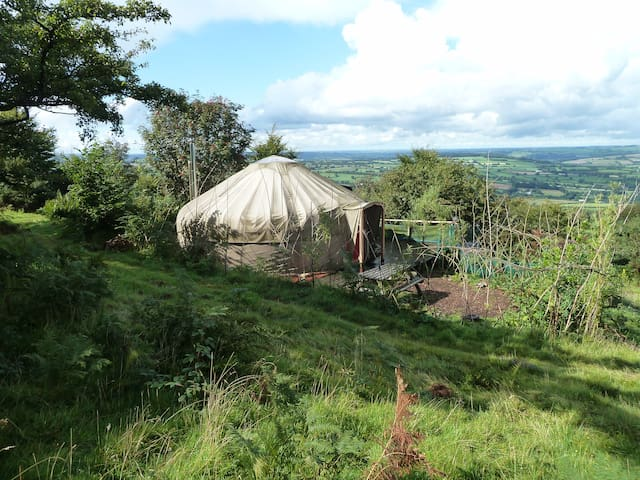 Superb 5 Star Offgrid Tranquil Yurt in Cornwall UK - Callington
