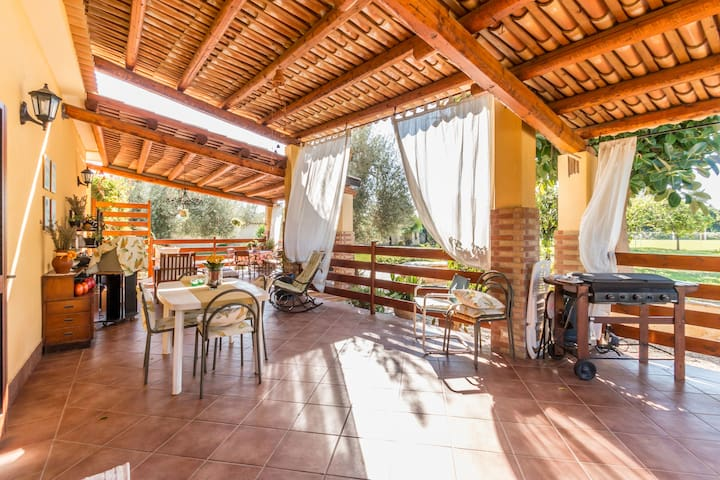 Large Room, Green and Quiet - wifi - avola - Vila