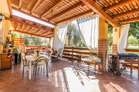 Large Room, Green and Quiet - wifi - avola - Villa