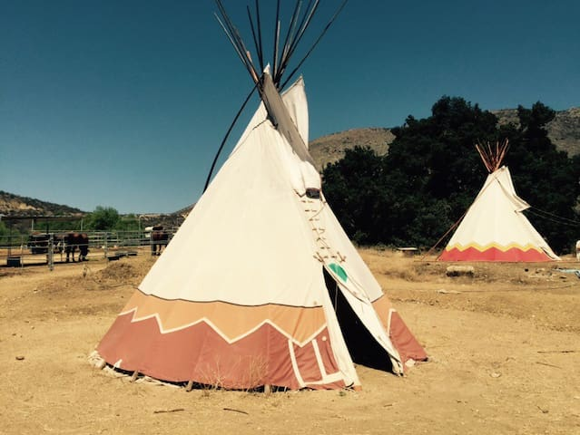 Tipi - Authentic Native American - Wildomar - Khemah Tipi