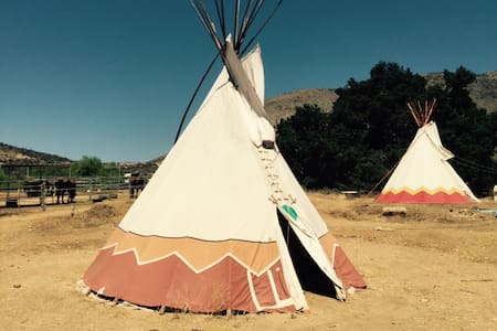 Tipi - Authentic Native American - Wildomar - Tipi