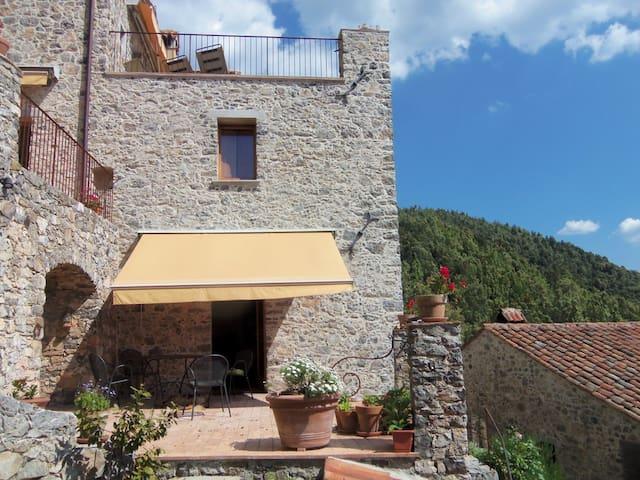 Borgolecaselle - Scuola Vecchia - Tortorella - Apartamento