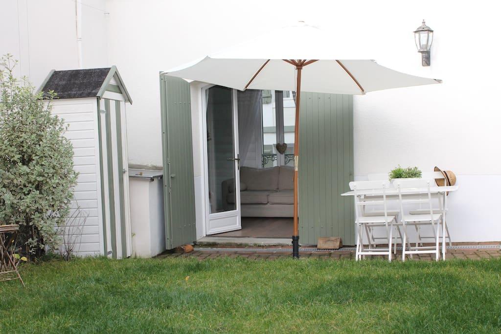 Adorable maison avec jardin et wifi maisons louer - Maison a louer 3 chambres avec jardin ...