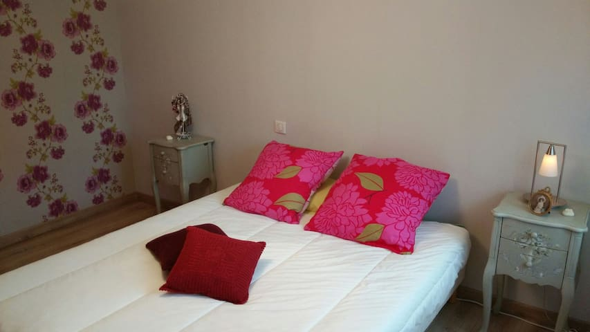 2 Chambres cosy 15mn d'Aiguebelette - Domessin - Bed & Breakfast