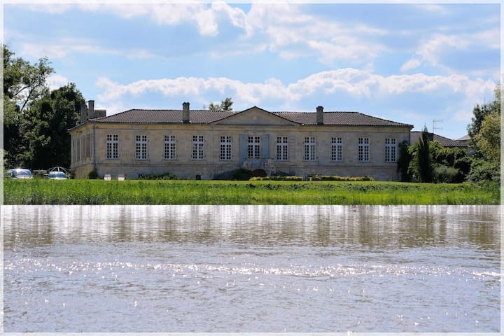 Château de Montigny-Rabey - Isle-Saint-Georges - Bed & Breakfast