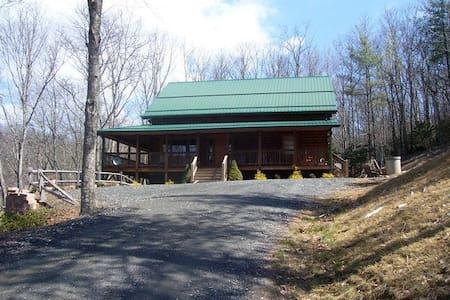 Spacious mountain house on 15 private acres