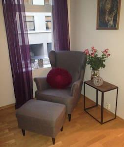Room in warm and cozy apartment. - Trondheim - Apartamento