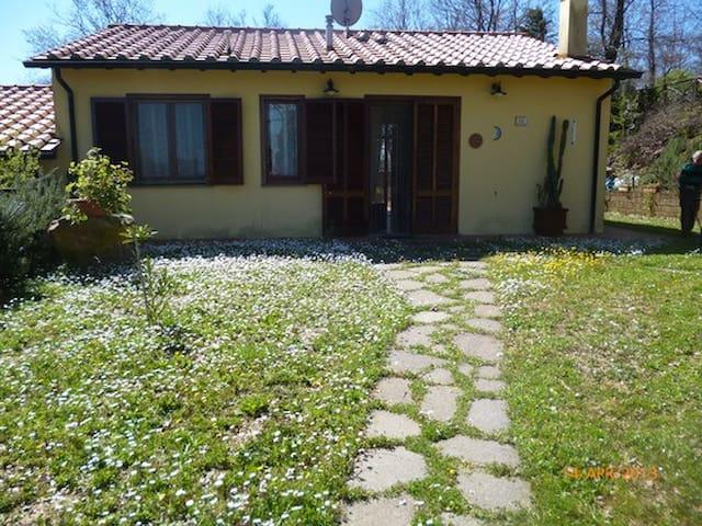 VILLETTA CON GIARDINO IN MAREMMA - Monteverdi Marittimo - Apartment