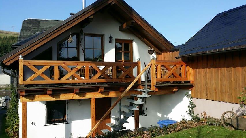 4 Sterne Ferienwohnung am Rennsteig - Oberland am Rennsteig - อพาร์ทเมนท์