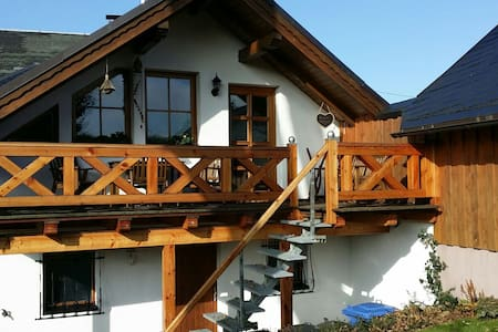 4 Sterne Ferienwohnung am Rennsteig - Oberland am Rennsteig - Appartement