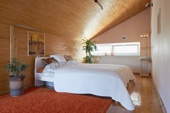 Your room in private house in park