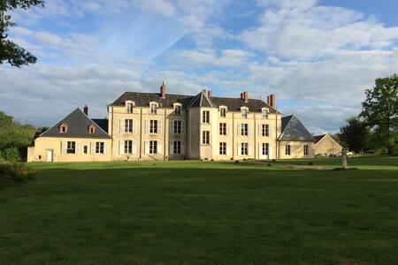 Chateau XVIIIe en Berry Sologne - Nohant-en-Graçay - Castle