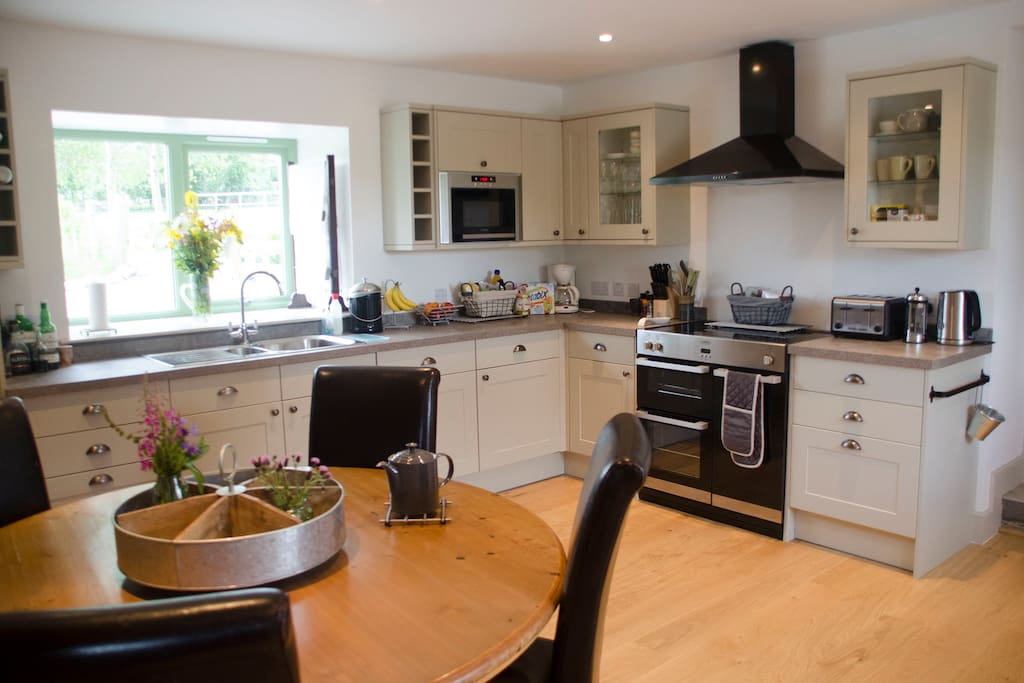 Fully equipped kitchen for all of your cooking needs