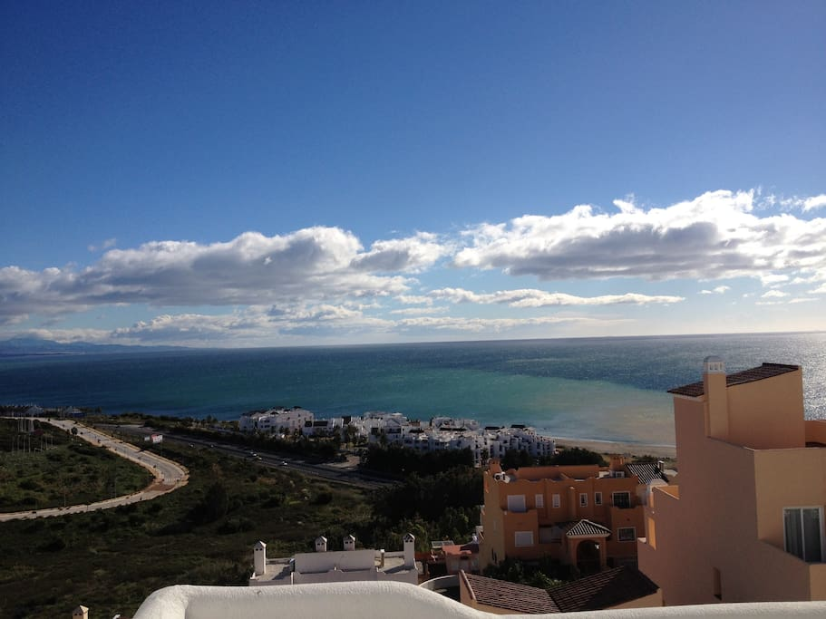 Fantastic view from one of four terraces
