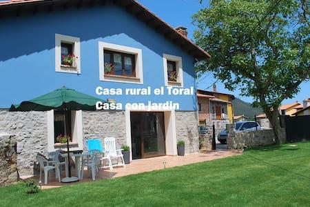 Casa de aldea Toral - Льянеса