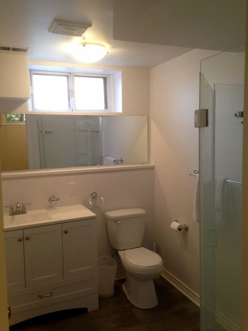 Fully renovated washroom