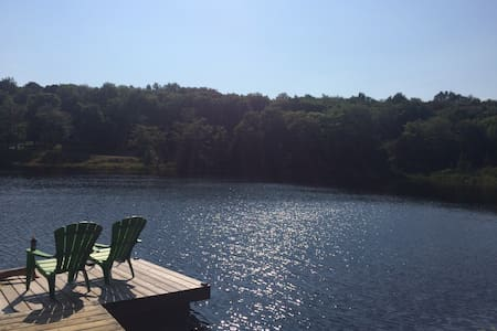 YEAR ROUND lakefront cottage - Bracebridge - Kulübe
