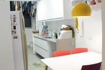 Cozinha do piso inferior