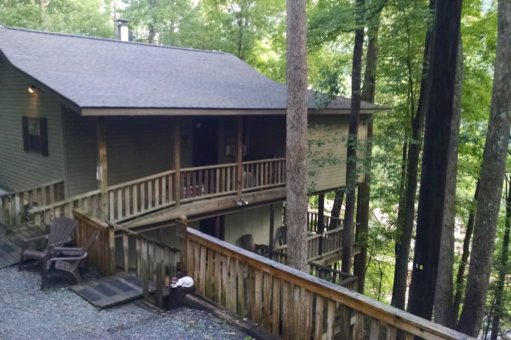 Hickory Nut Suite Cabins For Rent In Chimney Rock North