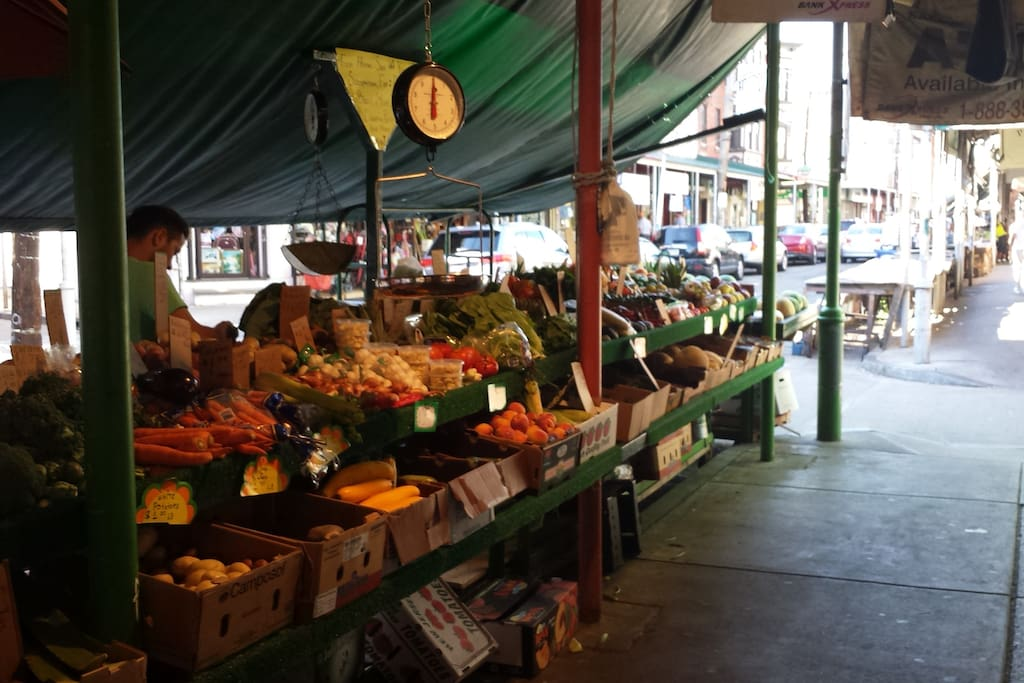 Enjoy the fresh produce  and specialty foods of this 100 year old gem of the South Philadelphia community.