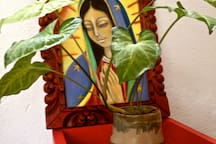 Lupita querida. Arte de Roselle