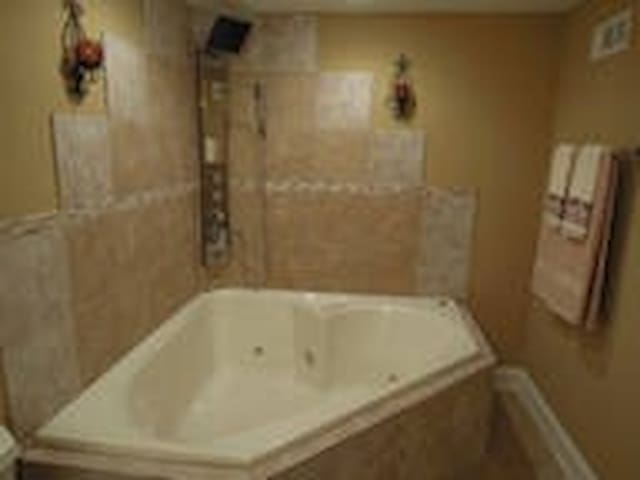Romantic, HotTub, Wine, Candle, etc - Downers Grove - Casa