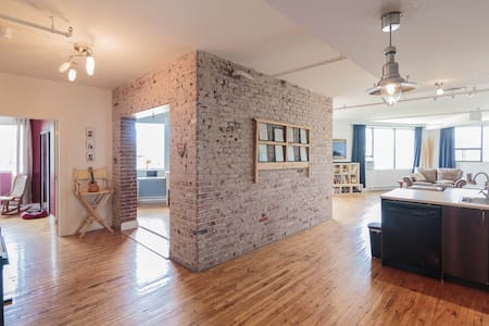 Loft 10 mins from Downtown Montreal - Montréal